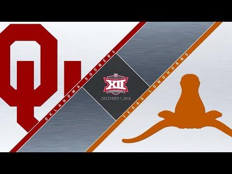 OU Highlights vs Texas (Big 12 Championship)