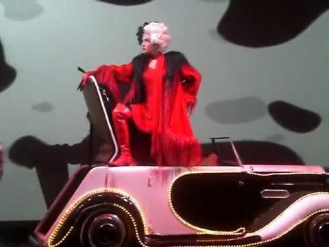 Jess Vandenberg as Cruella  Disney Wonder 2008