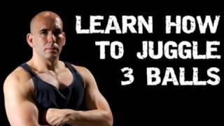 Repeat youtube video Learn How to Juggle 3 Balls