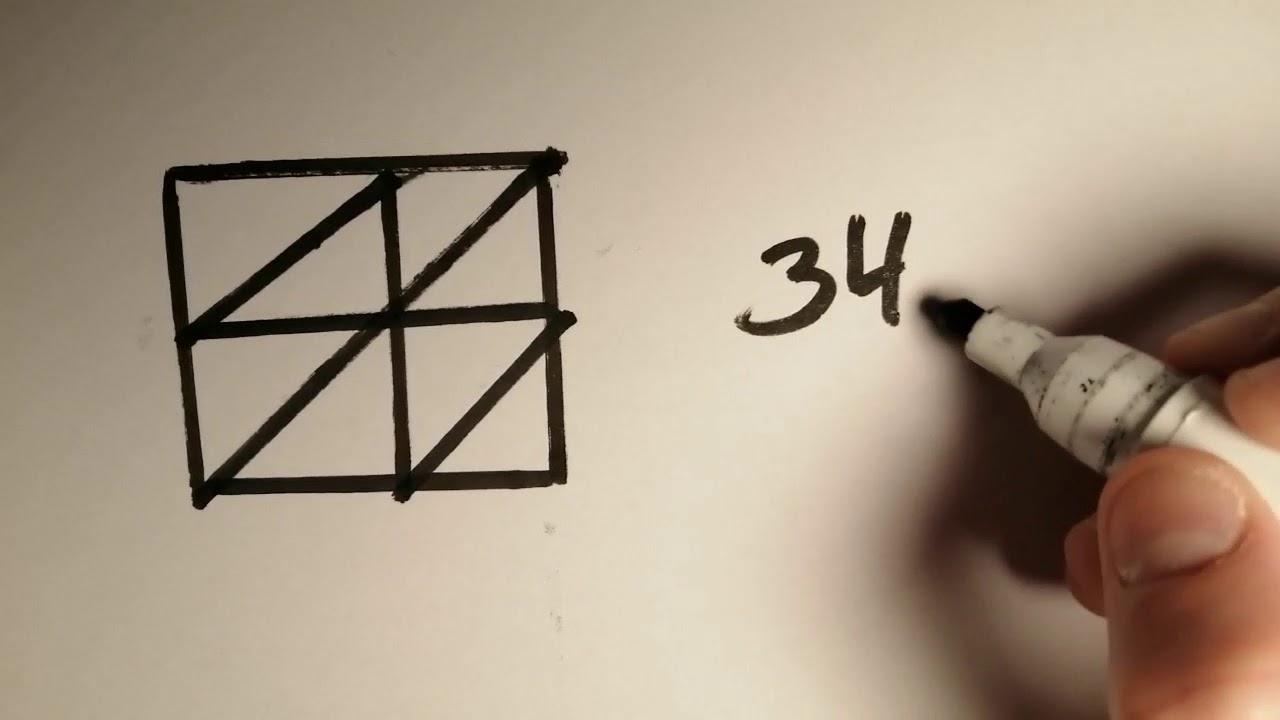 En rigtig nem gangemetode (Matematik - gangefirkanten)