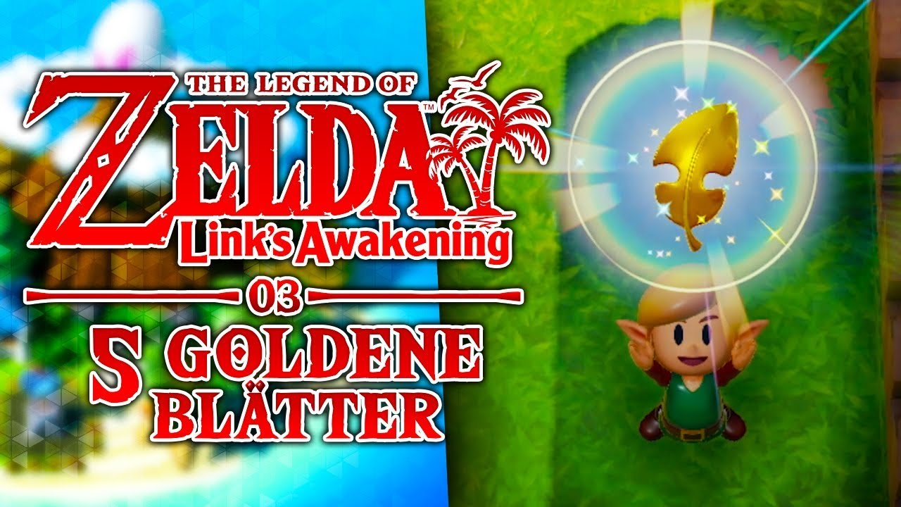 5 GOLDENE BLÄTTER! 🌴 03 • Let's Play The Legend of Zelda: Link's Awakening Remake thumbnail