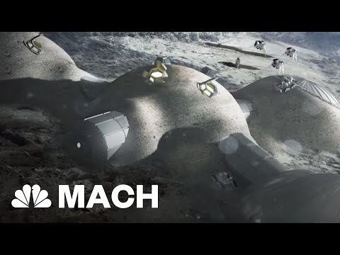 There Could Be A Village On The Moon By 2030 | Mach | NBC News