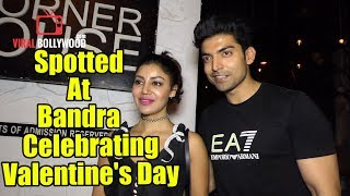 Gurmeet Choudhary And Debina Bonnerjee Spotted At Bandra | Valentine's Day Special