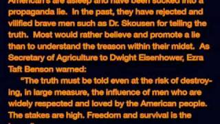 1of2 Dr. W. Cleon Skousen Exposes Betrayal of China to the Communists by the US State Department