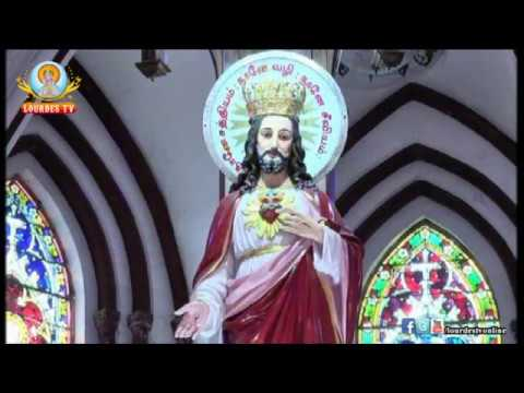 Sacred Heart Basilica Puducherry 02 07 2017 Sunday Morning Mass