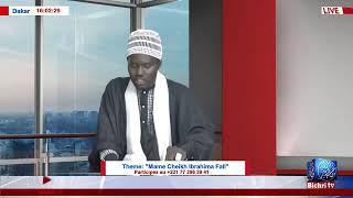 "LIVE | Emission Mawridu Zam'ân Theme: ""Mame Cheikh Ibrahima Fall"""