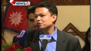 PUBLIC SPEECH OF PREM BANIYA - NEWS24 TV