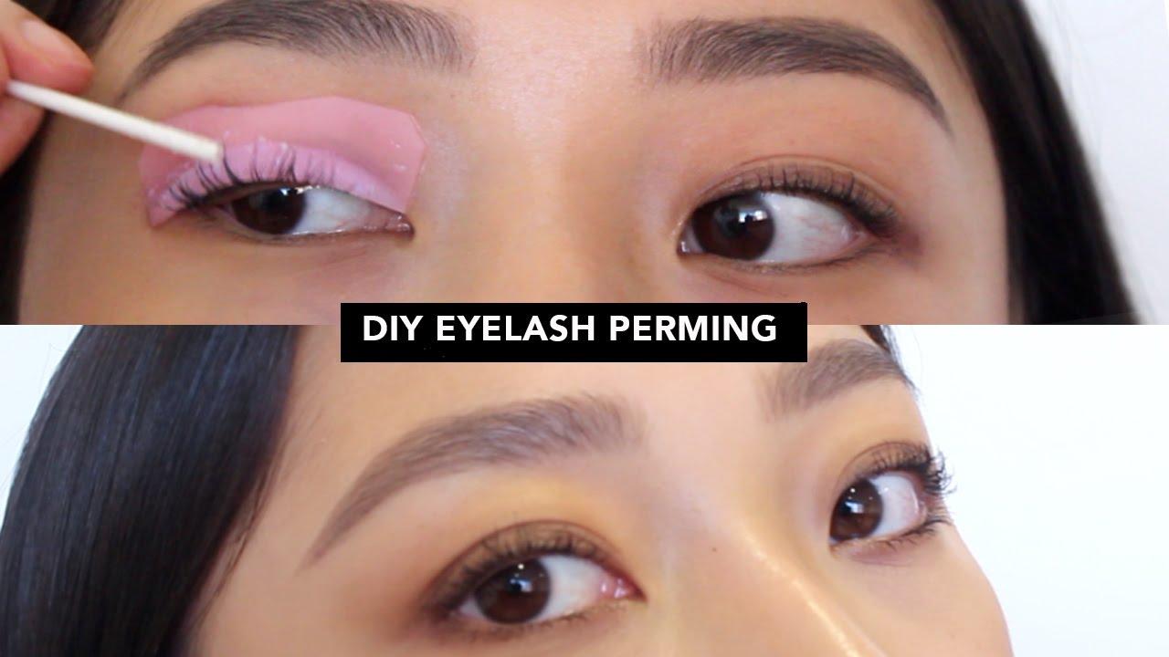 Diy Eyelash Perm Youtube