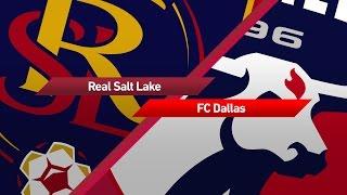 Zapętlaj Highlights: Real Salt Lake vs. FC Dallas | May 6, 2017 | Major League Soccer