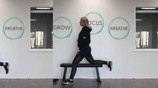 Exercise Demo: Bench Kneeling Hip Flexor Stretch