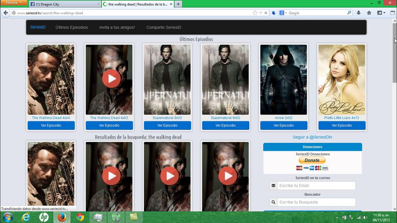 Como ver la cuarta temporada de the walking dead completa - YouTube