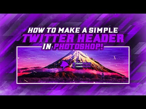 How To Make a Simple Banner in Photoshop! (Photoshop Tutorial) thumbnail