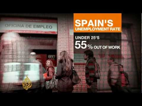 Spain's unemployment rate reaches record high