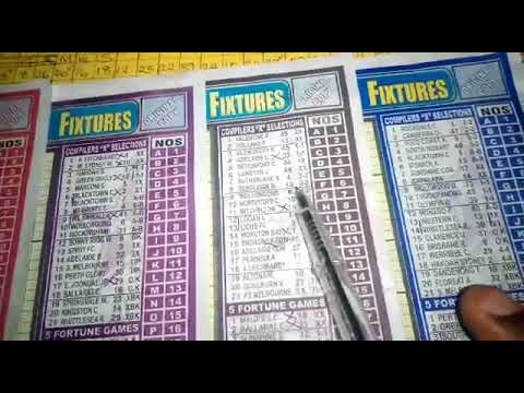 Week 01, 2019 Right-On Football Fixtures Pool Banker - YouTube
