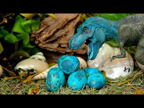Dinosaurs - Blue tyrannosaurus Tirex