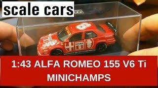 1:43 Alfa Romeo 155 V6 Ti DTM 1993 Minichamps