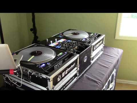 Mobile DJ Setup For Rane Twelves And Pioneer DJM S9 With Custom Mixer Box