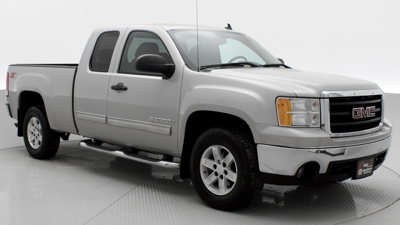 2008 Gmc Sierra Sle Z71 Is This The Nicest 10 Year Old Truck Ridetime Ca