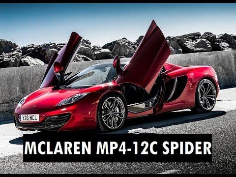ApC - Mclaren MP4-12C Spider em Paris