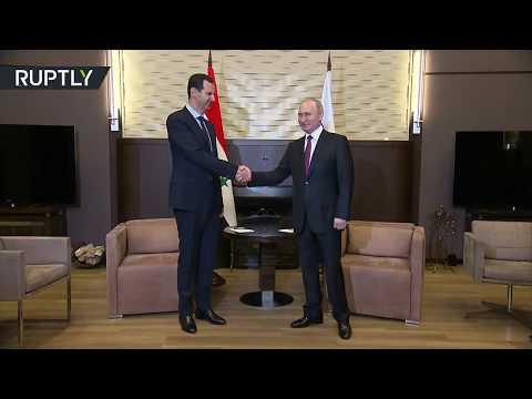 Putin meets Assad in Sochi, Russia