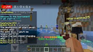 Minecraft hunger games live stream