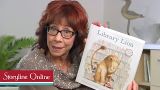 Library Lion read by Mindy Sterling thumbnail