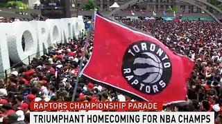 Toronto Raptors Victory Parade: Replay   CBC Kids News