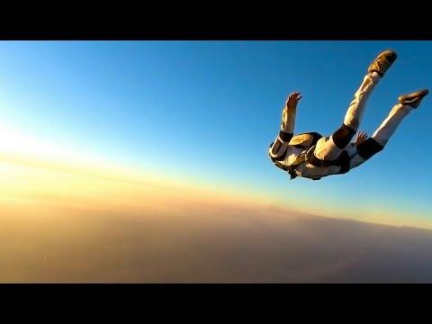 Прыгаем с парашюта в видео  360 градусов