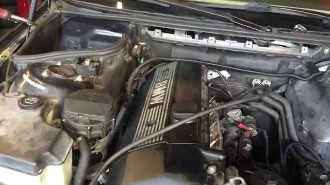 BMW Crankshaft Position Sensor & Knock Sensor Location  YouTube