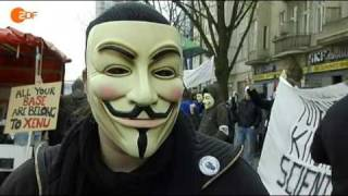 Anonymous on ZDF heute journal - 14.04.2008