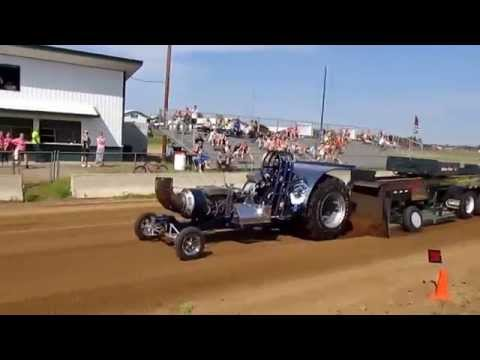 Truck and Tractor pull in HD little falls minnesota
