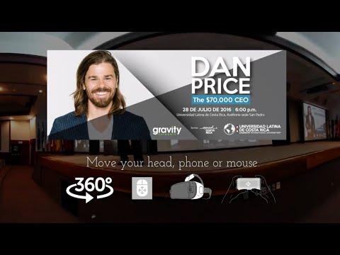 Dan Price in 360 at Universidad Latina de Costa Rica
