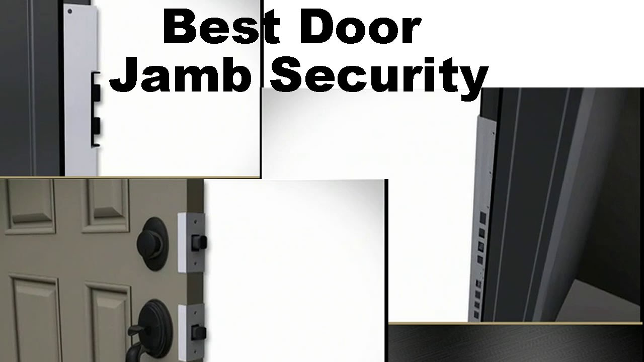 Reinforce Door Jamb - Security That Makes Your Home Safer - YouTube