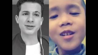 One call away - Charlie Puth & 4 years old Thai boy(duet on smule)ผมฝึกร้องเองนะคร้าบ!!!