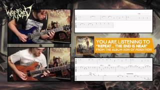 "WRETCHED ""Repeat... The End Is Near"" Guitar Demonstration / Tab Video"