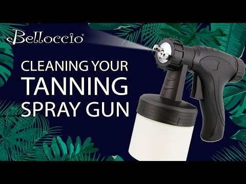 Belloccio Sunless Tanning - How To Clean Your Tanning Spray Gun