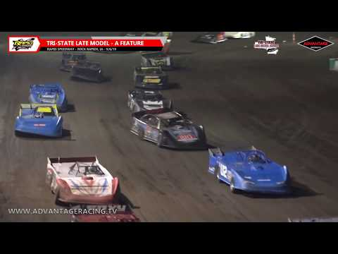 Stock Car/Late Model Features - Rapid Speedway - 9/6/19
