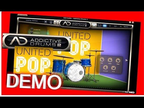 UNITED POP Adpak DEMO - Addictive Drums 2 - XLN audio
