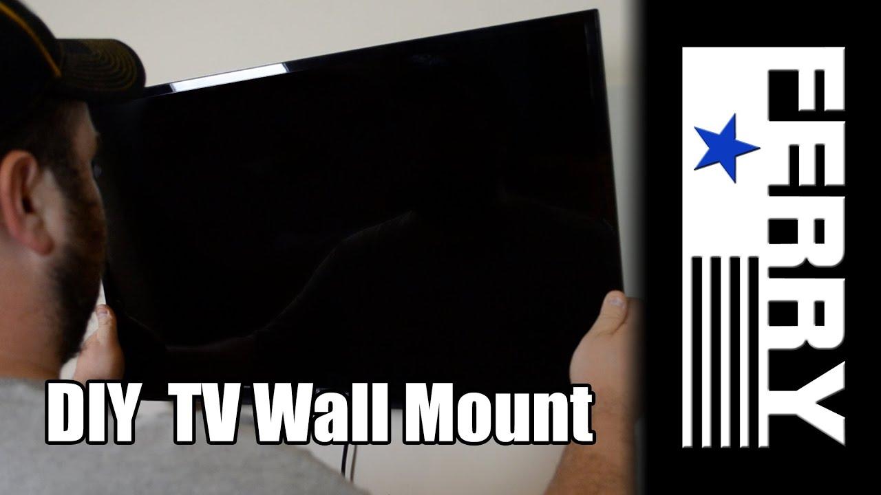 Diy Tv Wall Mount