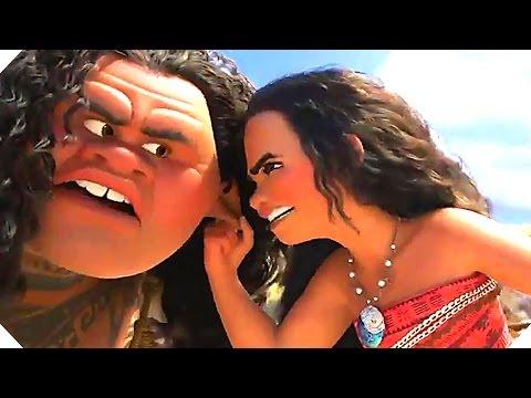 Disney's MOANA - Moana Meets Maui - Movie Clip (2016)