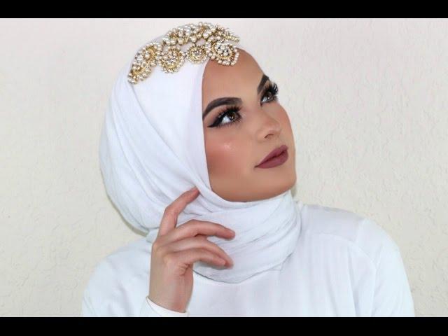 Wedding Hijab Tutorial Youtube