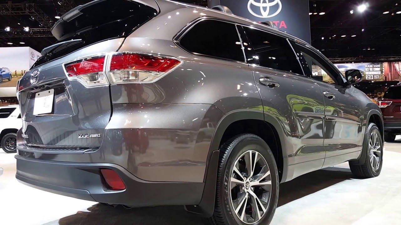 2016 Toyota Highlander Xle Exterior Walkaround Price Site Cars