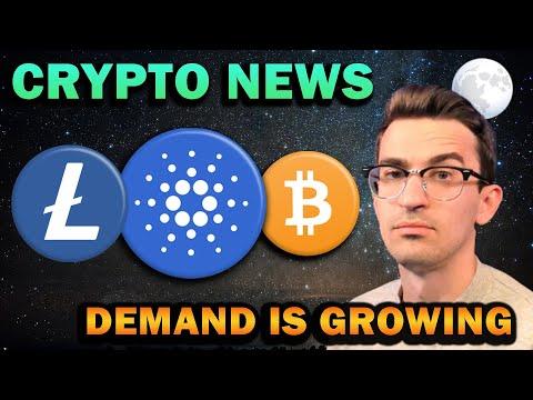 MAJOR CRYPTO NEWS!!! Cardano ADA, Litecoin, Bitcoin