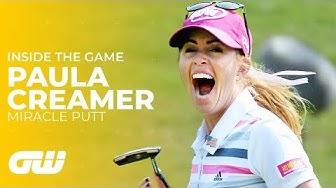 Paula Creamer's MIRACLE PUTT at the HSBC Women's Champions 2014 | Golfing World
