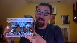 EXCLUSIVE GameStop Funko Pop Kingdom Hearts Box Unboxing (CHASE!) - Sora, Donald, Goofy Tron