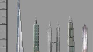 Burj Dubai (The New World) Comparing [2008-2012]