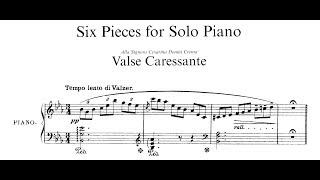 Respighi: 6 Pieces for Piano (Scherbakov)