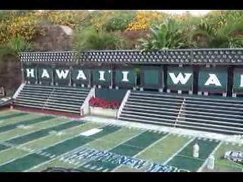 hawaii football backyard youtube