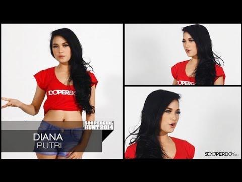 Diana Putri - Soopergirl Hunt 2014