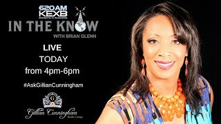 Realtor Gillian Cunningham LIVE on the radio in Dallas